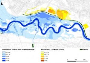 Hochwasserkarte