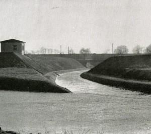 Seseke Mündung 1960