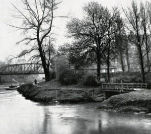 Sesekemündung um 1900